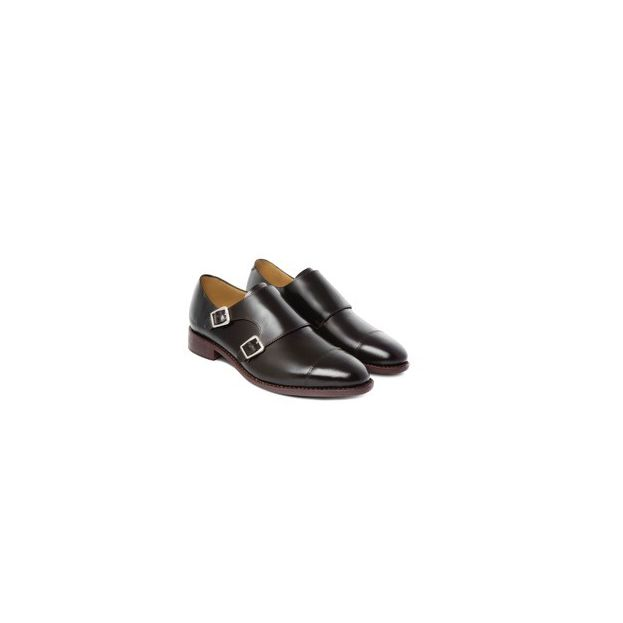 MONKSTRAP INGLES MARRÓN