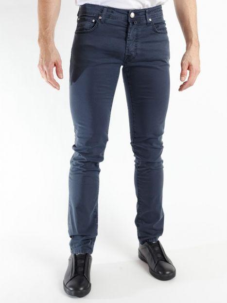 Pantalón Jacob Cohen 5 bolsillos azul marino